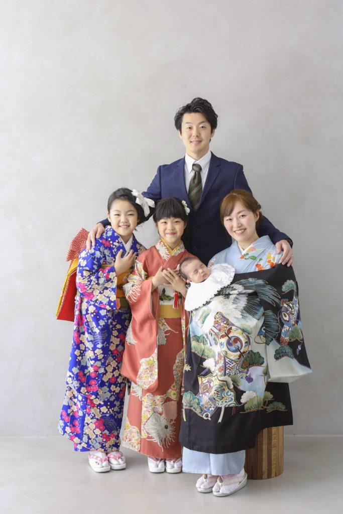 家族写真の服装