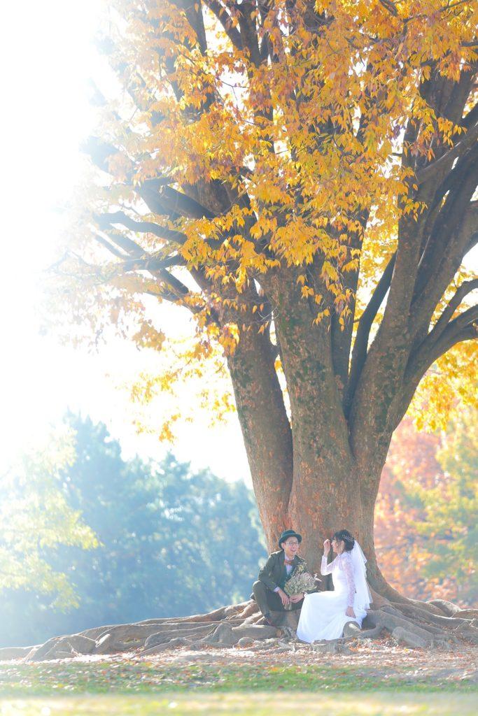 名古屋の結婚式のロケーション写真
