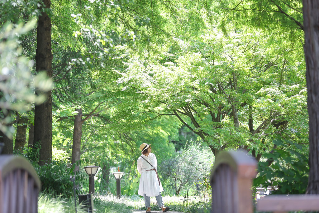 名古屋のフラリエで撮影したロケーションフォト
