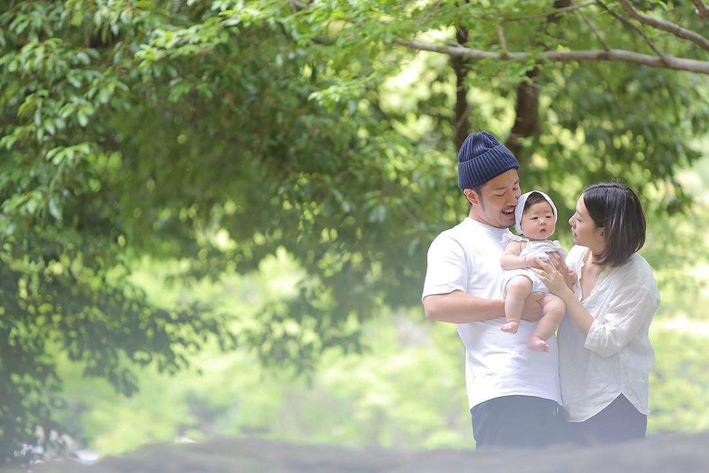 名古屋ロケーション家族写真