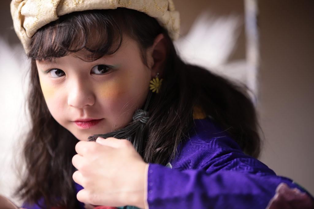 七歳女の子の七五三ヘアスタイルダウンスタイル