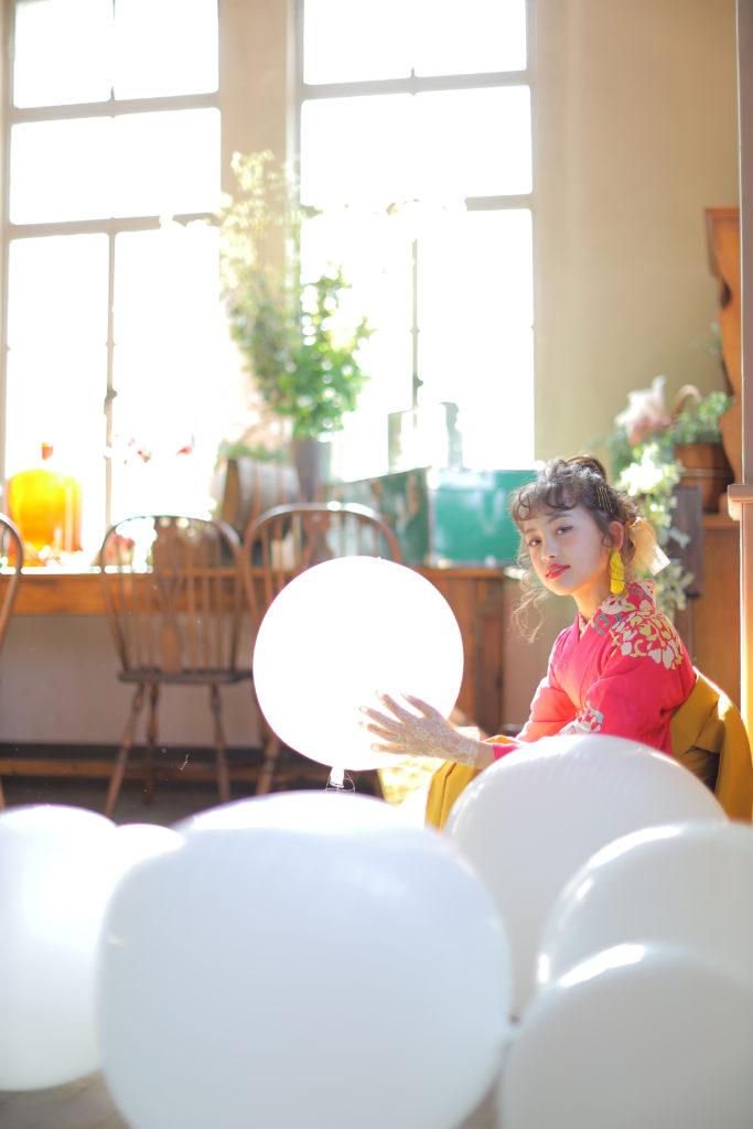 七歳女の子のおしゃれな七五三写真