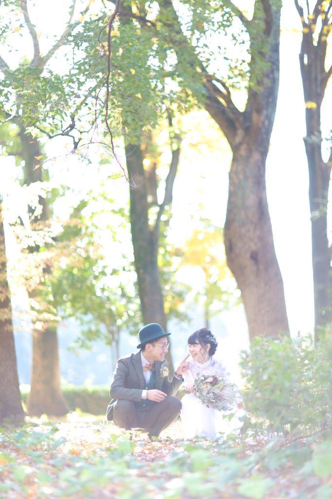 名古屋のフォトスタジオノーブレムのウェディング前撮り