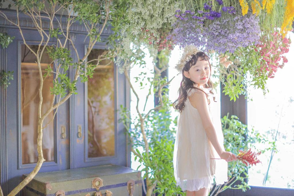 七五三白いドレス