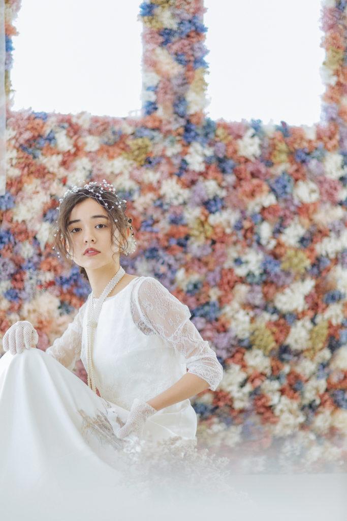 ウェディングドレス写真