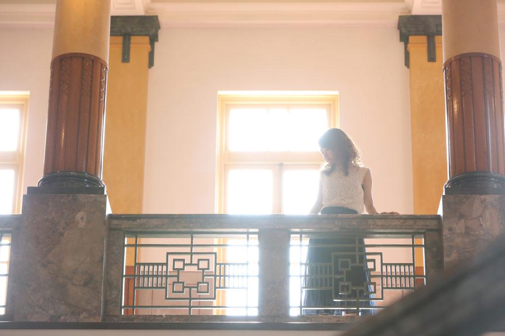 名古屋市市政資料館で撮影したロケーションフォト