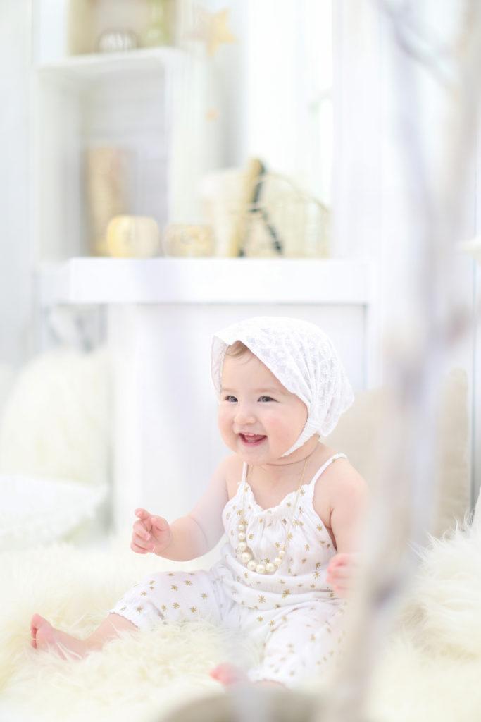 名古屋で撮影した赤ちゃんのバースデーフォト