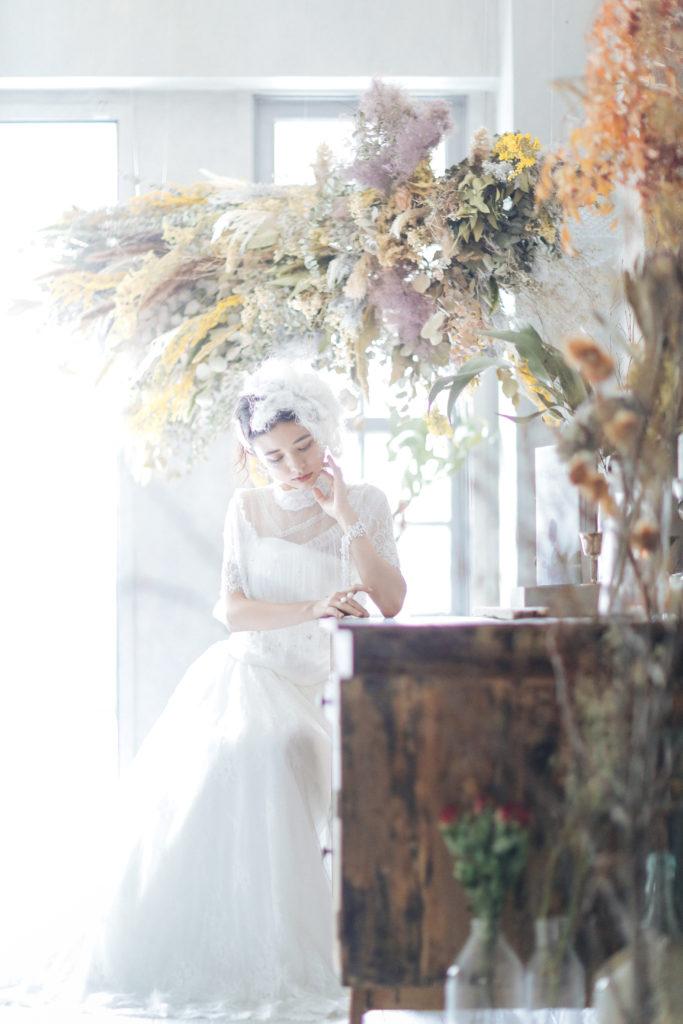 名古屋で撮影した結婚式の前撮り写真