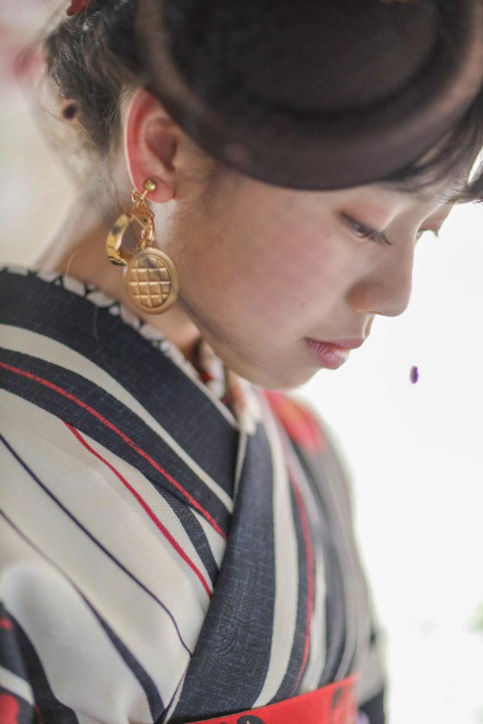 名古屋のおしゃれなフォトスタジオで撮影した1/2成人式