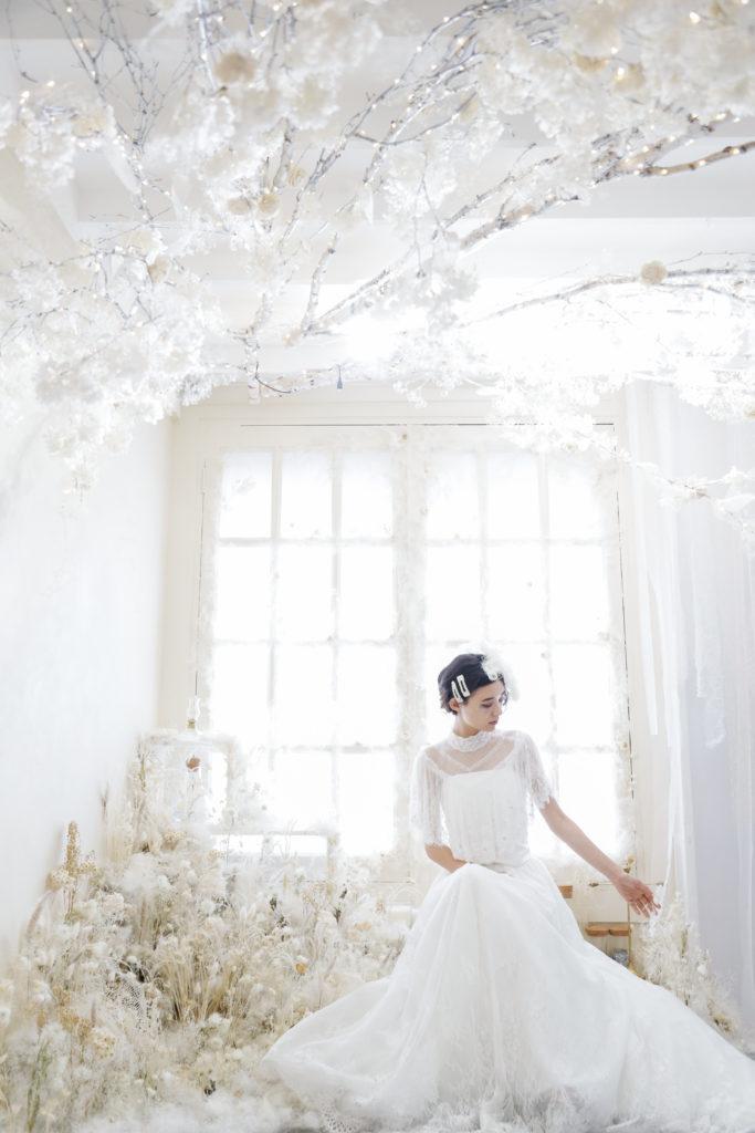 名古屋の写真館で撮影した結婚式の前撮り写真