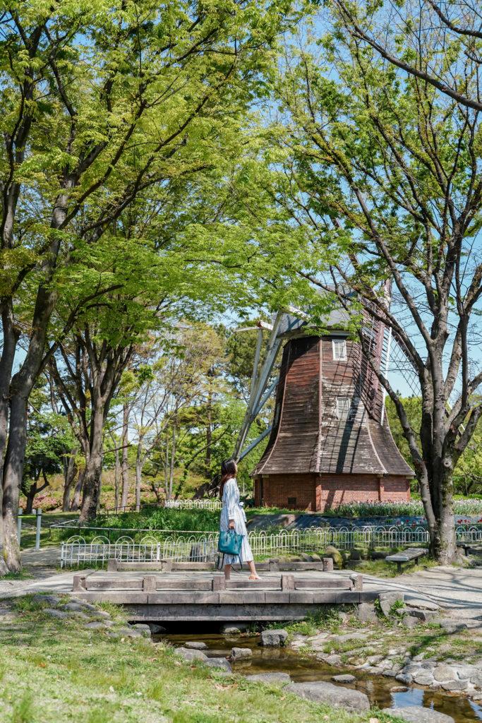 名城公園のロケーションフォト