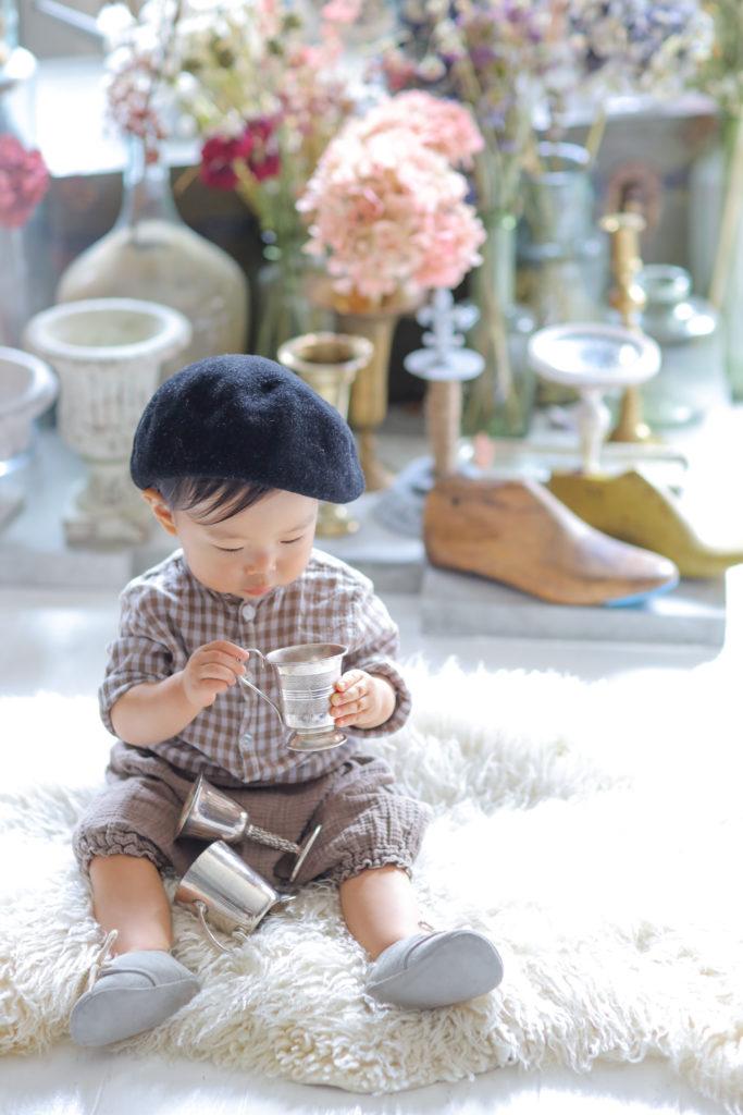 かわいい赤ちゃんの仕草