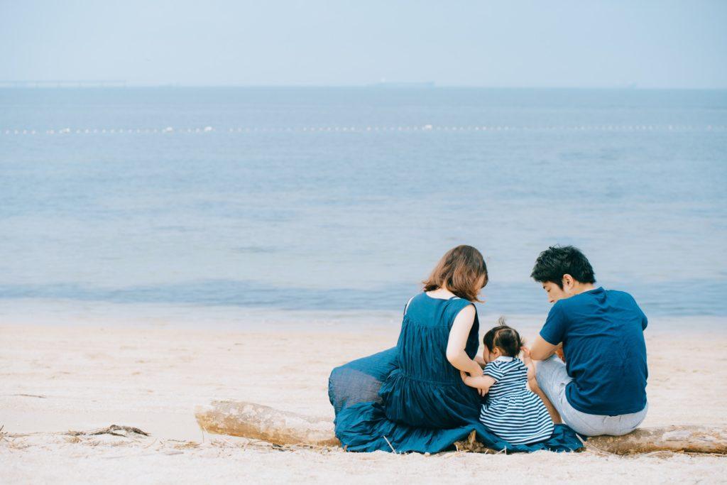 りんくうビーチでのロケーション撮影